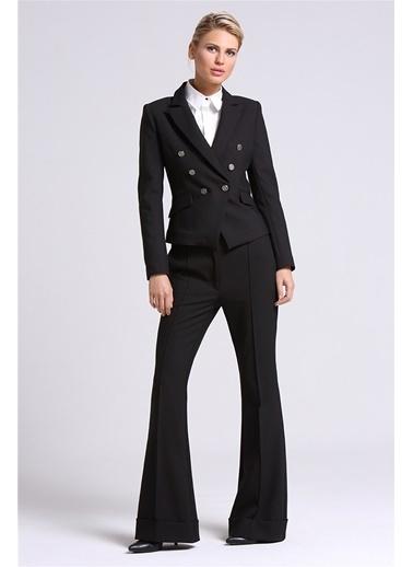 Love'n Fashion Paris Blazer Ceket Siyah